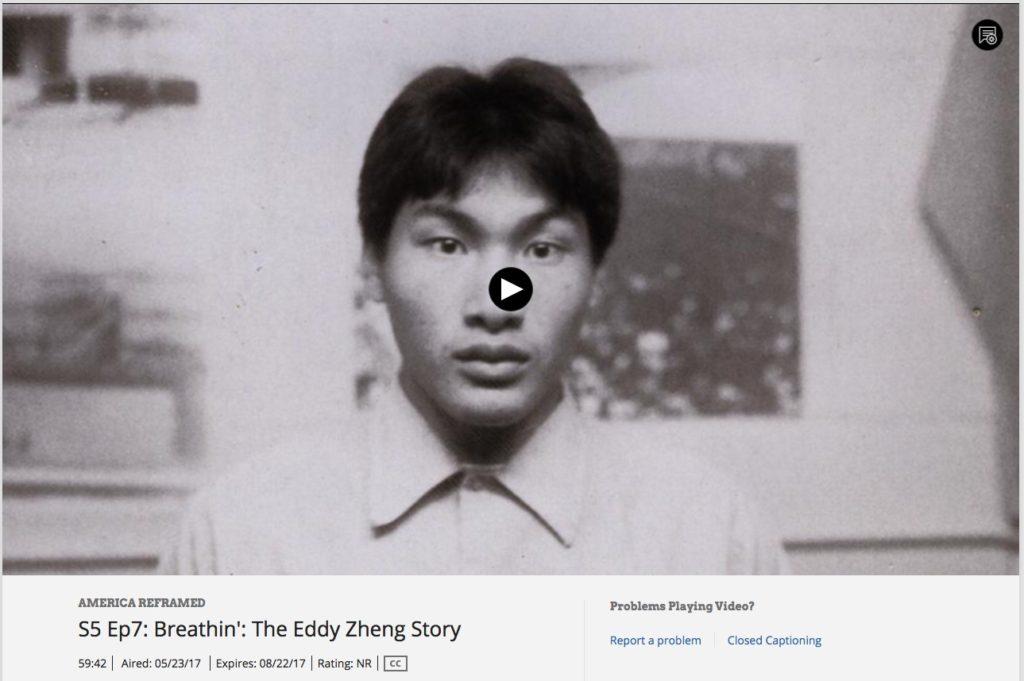 Streaming on PBS | Breathin' : The Eddy Zheng Story